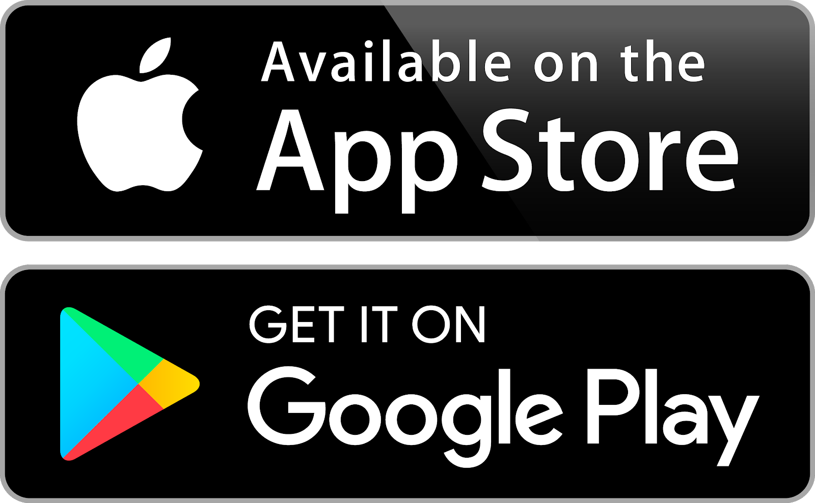 Get the app on the App store or Google Play